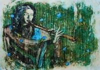 В Ялте состоится выставка работ художника Сергея Лыкова «Флейта сякухати»