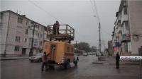 """В Керчи ремонтируют троллейбусную линию в районе """"Музея"""""""