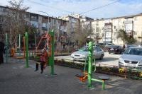 На спортивных площадках Евпатории установят системы видеонаблюдения