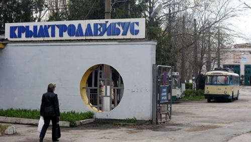 """Аксенов отменил реорганизацию """"Крымтроллейбуса"""""""