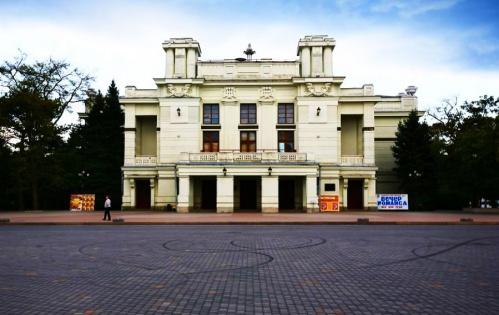 В Евпатории реконструируют театр имени А.С. Пушкина