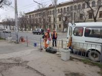 В Севастополе убрали пешеходный переход возле СевГУ