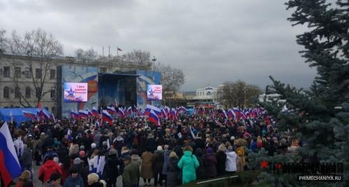 Митинг народной воли собрал на Нахимова тысячи севастопольцев