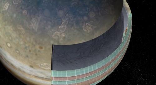 Ученые заглянули вглубь Юпитера