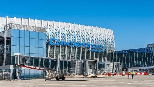 В новом аэропорту Симферополя установили систему управления зданием