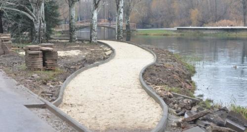 В Гагаринском парке в Симферополе появится пруд и новая аллея
