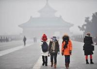 В Китае запустили гигантский очиститель от смога на солнечной энергии