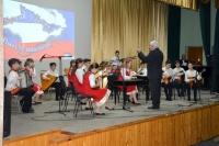 В Евпаторийской детской школе искусств прошел праздничный концерт, посвященный 4-й годовщине воссоединения Крыма с Россией