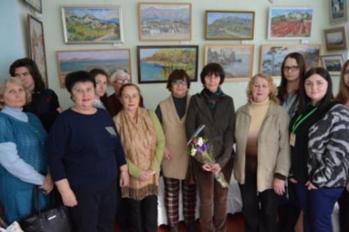 В Ялте открыли персональную выставку «Крымские мотивы Светланы Бакаевой»