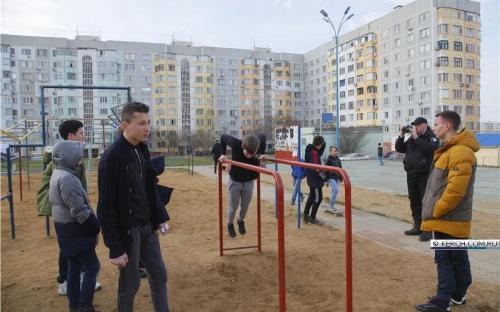 В Керчи прошел отборочный тур кубка Керчи по street workout