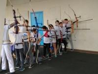 Керченские лучники соревновались в меткости
