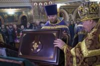 В Евпаторию привезли мощи святых преподобных отцов Киево-Печерских