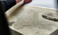 Севастополю передали британскую карту Крыма, составленную перед войной