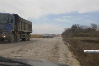 Участок керченской трассы временно закроют для транспорта из-за сильного разрушения асфальта