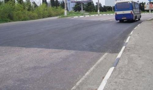 С 27 марта из-за угрозы оползней участок алуштинской трассы закроют для фур