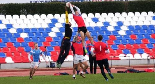 Сборная России по регби-7 в Алуште провела тестовые матчи с крымскими командами