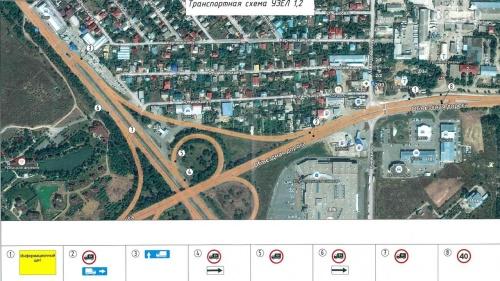 В Симферополе ограничили движение для грузовиков в районе Евпаторийской развязки