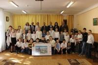В Ялте меценаты подарили особенным детям телевизор