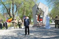 В Евпатории прошел митинг-реквием, посвященный 32-й годовщине Чернобыльской катастрофы