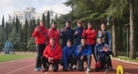 Чемпионы России по пожарно-прикладному спорту провели сбор в центре «Крымский» в Алуште