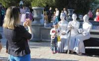 Впервые в Керчи прошел фестиваль живых скульптур