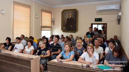 В Евпатории состоялся конкурс на размещение НТО