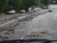В Севастополе закрыли для транспорта спуск Котовского