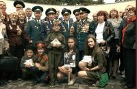 В Ялте провели социально значимую патриотическую акцию «Письмо ветерану»
