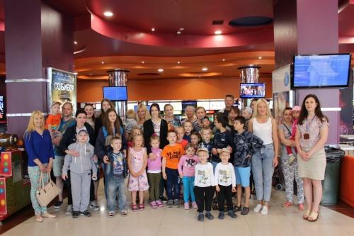 В Ялте для особенных детей состоялся благотворительный кинопоказ