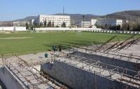 В Севастополе реконструируют стадион «Горняк»