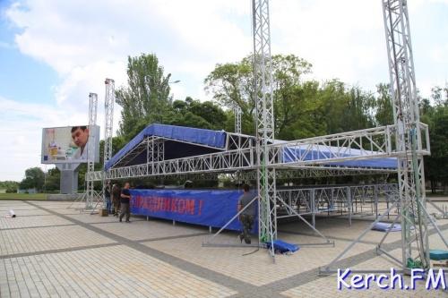 Завтра в Керчи целый день будет идти концерт в честь открытия Крымского моста