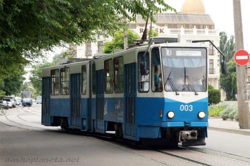 В Евпатории возобновится движение трамваев по маршруту «Городской театр — Лиман»