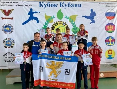 Керченские тхэквондисты привезли с Кубани 20 медалей