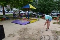 Севастопольцы активно участвуют в конкурсе «Самый дружный двор»