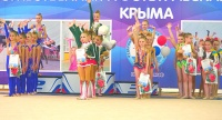 Открытый республиканский турнир по эстетической гимнастике состоялся в Алуште