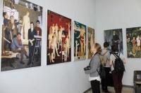 В Алупке открылась выставка картин советского и российского художника Дмитрия Жилинского