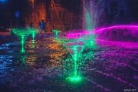 В Евпатории открыли еще один световой фонтан