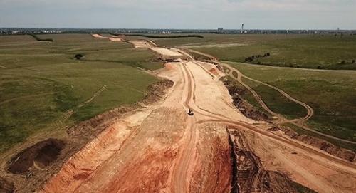 «Центродорстрой» планирует летом начать асфальтирование трассы на Евпаторию