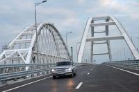 По мосту через Керченский пролив проехали 500 тысяч авто