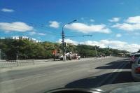 В Симферополе на ул. Севастопольская установили новый светофор