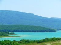Уровень воды в Чернореченском водохранилище Севастополя превышает показатели последних 10-15 лет