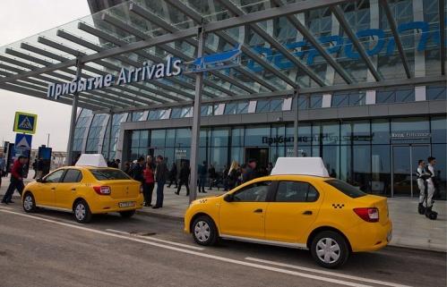 С аэропортом «Симферополь» будет работать ещё одна служба такси