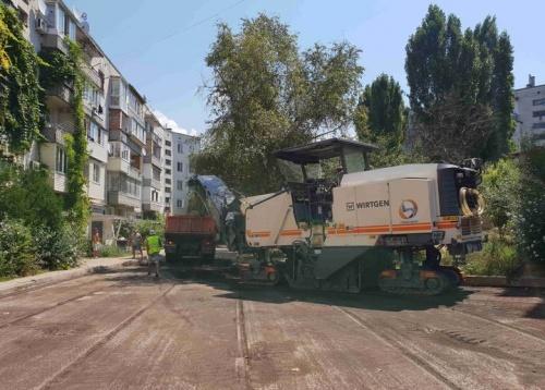 В Севастополе начался масштабный ремонт дорог на улицах Лоцманская и Боцманская