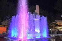 Обновленный 3D фонтан украсил главную набережную Евпатории