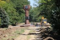 В Керчи приступили к реконструкции Комсомольского парка