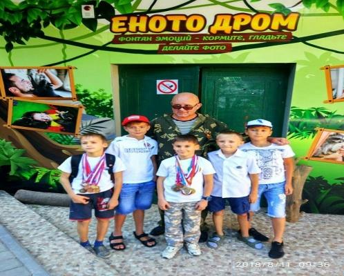В Ялте открылся «Енотодром»