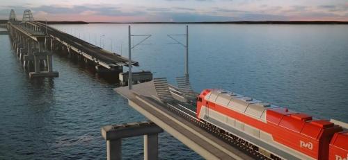 Поезда из 11 российских городов будут ходить в Крым после запуска железнодорожной части моста