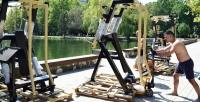 В симферопольском парке запустят салют в честь открытия тренажерного зала