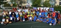 В Евпатории определили победителей в дворовом футболе