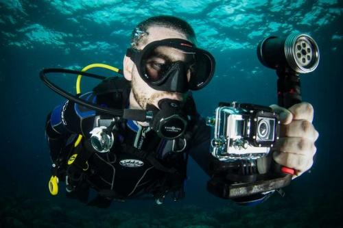 В Севастополе снимают фильм о подводных артефактах Крымского полуострова